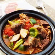 番茄蘑菇炖牛肉