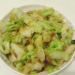 大頭菜炒蝦米