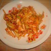 米线里的酸菜