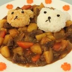 小熊咖喱饭