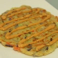 日式蔬菜餅