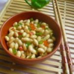 锅出溜怎么做双椒拌黄豆的做法