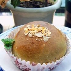 堅果綠茶面包