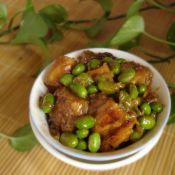 咸魚燒毛豆