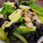 燈籠椒芹菜炒肉片