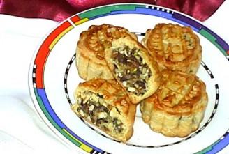 冬蓉五仁月饼的做法