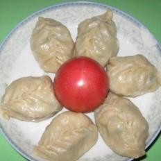 白菜豬肉餡大蒸餃