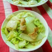 猪油渣炒大白菜
