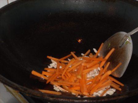 青椒豆干炒肉丝怎么做