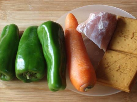 青椒豆干炒肉丝的做法大全