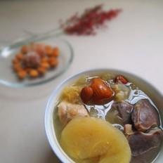 苹果银耳炖鸭肾汤