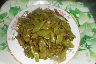 炒芸豆的做法