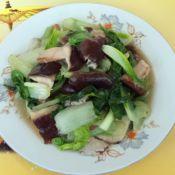 香菇炒快菜