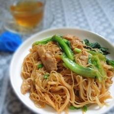 生菜炒米粉