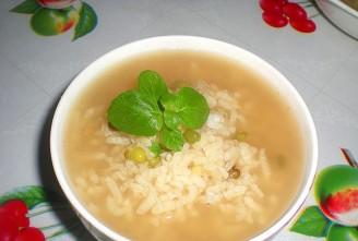 綠豆薄荷粥的做法