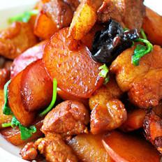 水萝卜烧肉