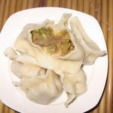 南瓜猪肉饺子