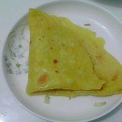 玉米白面饼