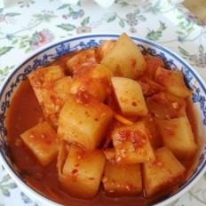 萝卜块泡菜
