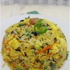红萝卜紫菜炒饭