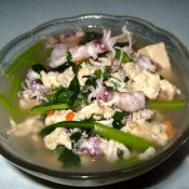 乌鱼豆腐花