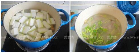 排骨冬瓜汤的简单做法