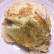 雞蛋香煎饅頭片