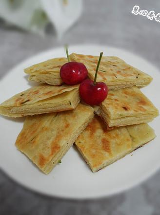 椒鹽蔥花餅的做法