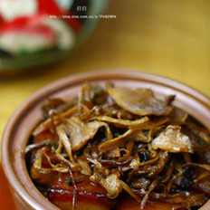 霉干菜焖肉