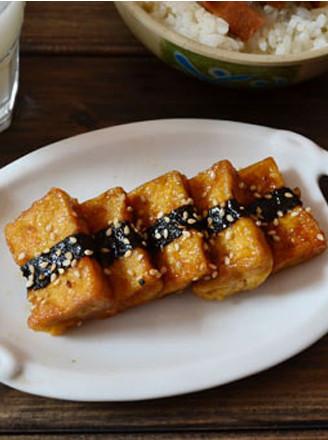 照燒海苔豆腐的做法