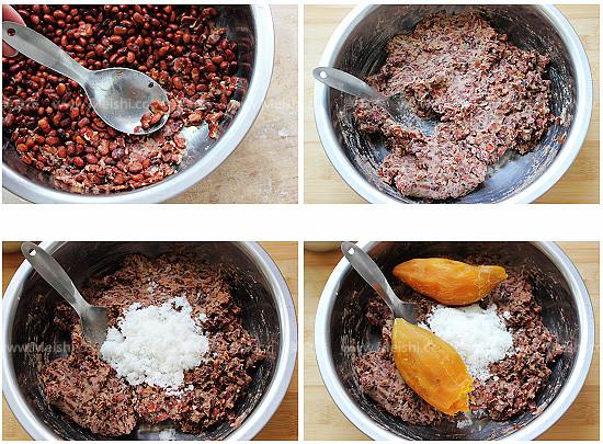胶东传统豆饽饽的家常做法