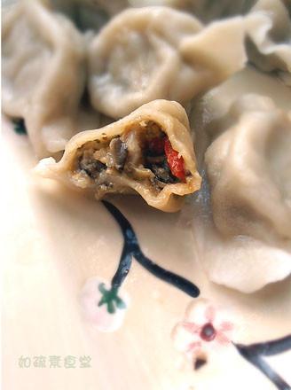 雙菇豆腐餃的做法