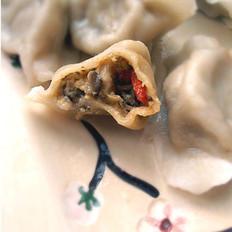 雙菇豆腐餃