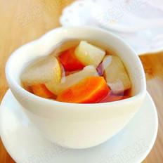 马蹄雪梨胡萝卜糖水