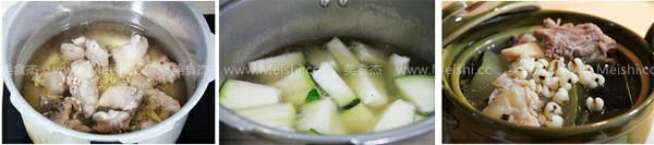冬瓜薏米龙骨汤的做法图解