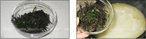 紫苏鳅鱼粥的家常做法