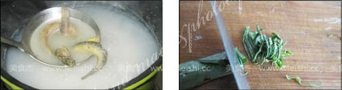 紫苏鳅鱼粥的做法图解