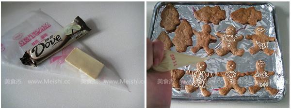 姜饼人饼干怎么吃