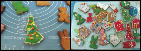圣诞姜饼怎么做