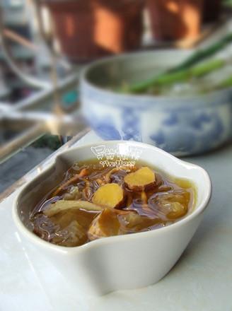 金虫草山药银耳汤的做法