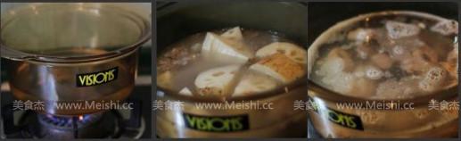 莲藕排骨汤的做法图解
