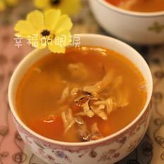 蕃茄墨鱼排骨汤