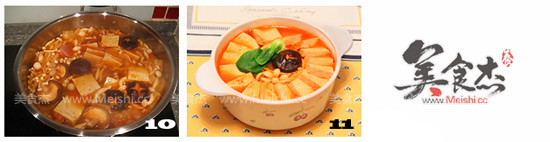 泡菜豆腐锅的简单做法