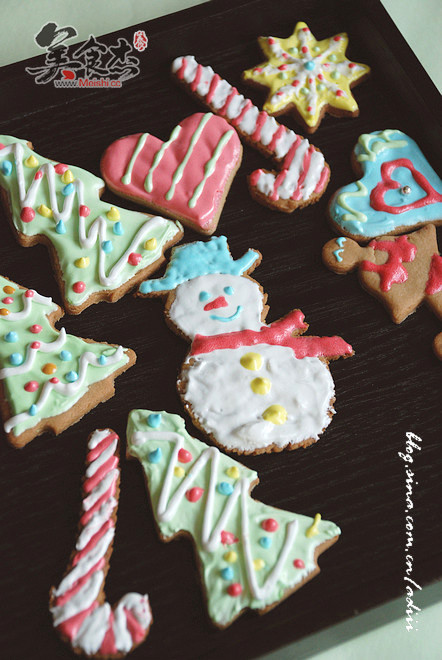 超简单圣诞姜饼怎么做