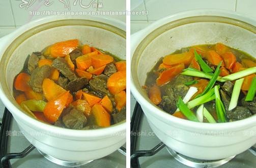 羊肉胡萝卜小锅仔的简单做法