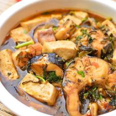 雪菜鲶鱼炖豆腐