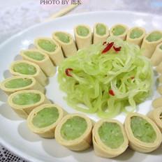 大骨棒怎么做莴苣两吃的做法