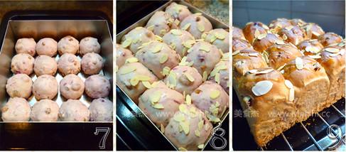 核桃紫薯葡萄干面包的家常做法