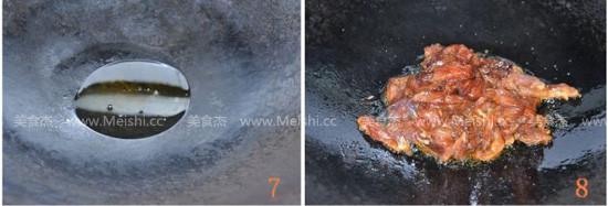 蒜苔炒肉丝的简单做法
