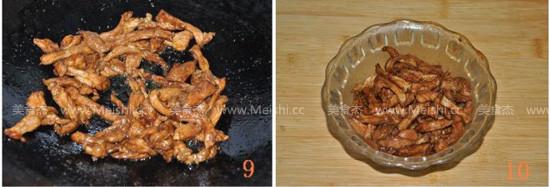 蒜苔炒肉丝怎么吃